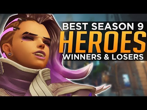 Overwatch: BEST and WORST Heroes For Season 9 - Meta Discussion