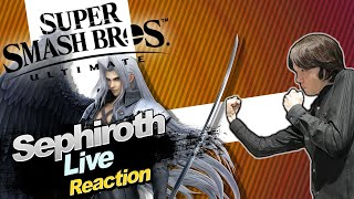 🔴 SEPHIROTH Gameplay! 🎇 SUPER SMASH BROS. ULTIMATE DIRECT 17.12.2020 🎇 Domtendos Live Reaktion