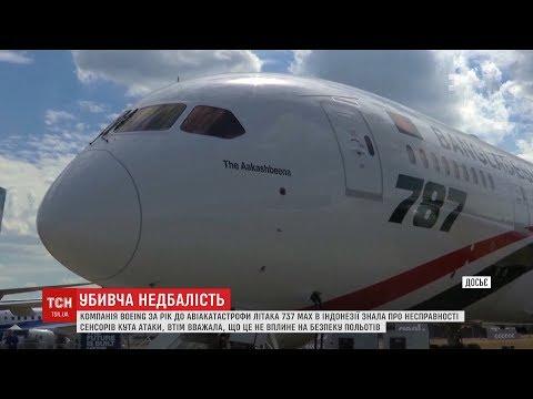 Понад 300 людей загинули внаслідок приховування проблем із літаком Boeing 737 MAX