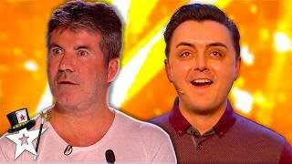 Golden Buzzer Magician Leaves Judges In Tears After Emotional Audition On Britain