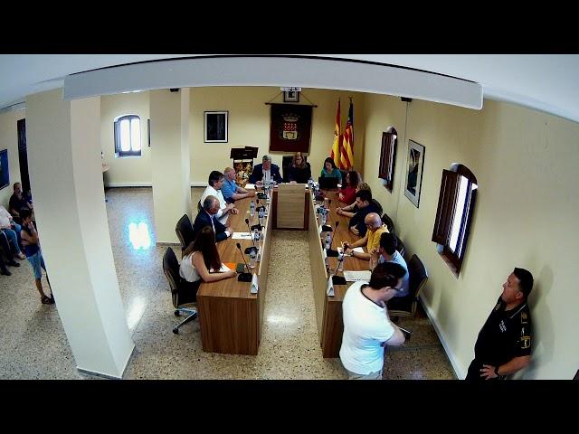 Ple de Constitució Corporació Municipal (15.06.2019)