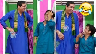 Best Of Zafri Khan and Vicky Kodu with Shazeb Mirza Stage Drama Comedy Clip 2020