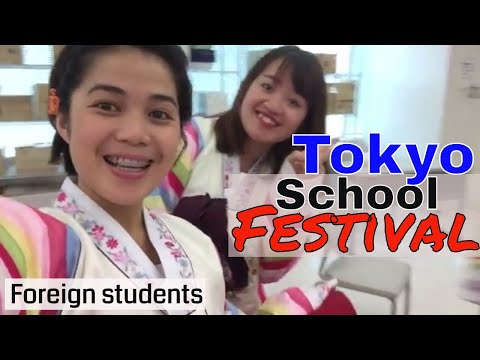 Japan School Festival (Foreign students in Tokyo)