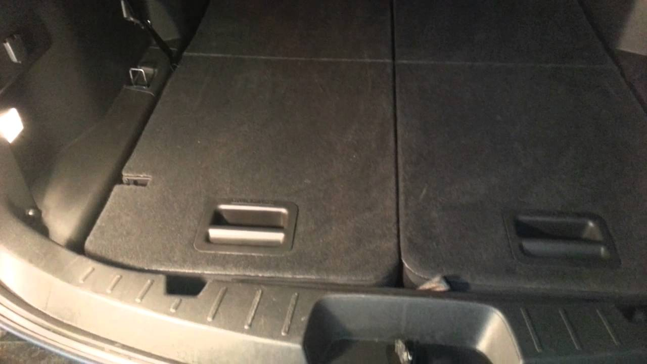 2014 ford explorer cargo room with only 3rd row seats folded down