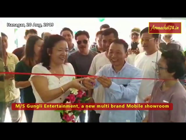 Itanagar: Talo Potom inaugurated Multibrand Mobile Showroom