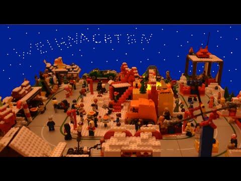 Lego Weihnachtsmarkt.Lego Weihnachtsmarkt Lego Weihnachts Moc