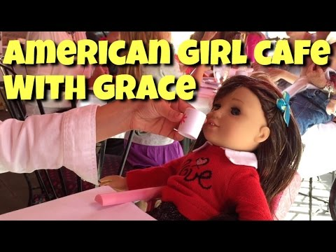 Lunch At The American Girl Cafe With Girl Of The Year Grace