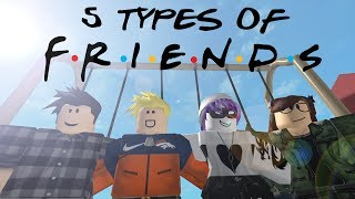 5 Types of ROBLOX Friends