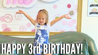 OUR YOUNGEST CELEBRATES ANOTHER  BIRTHDAY!! / STELLA TURNS THREE YEARS OLD!