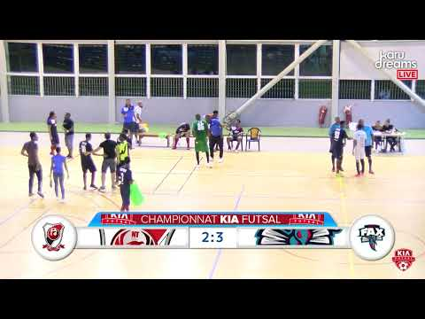 Kia Futsal Guadeloupe 5e journée New Team VS Fax
