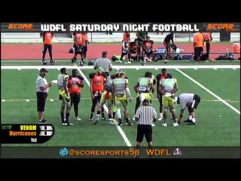 WDFL Atlanta Venom vs East GA Hurricanes 20-0