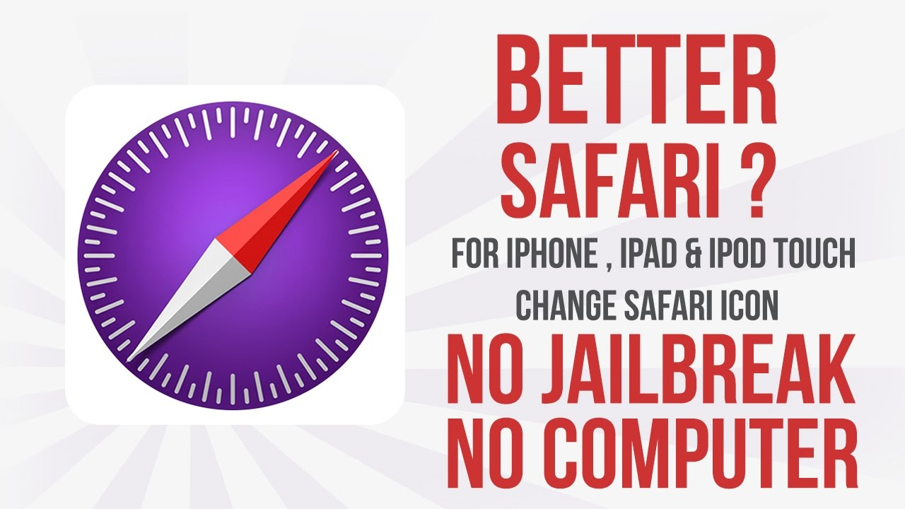 safarify better safari change the look of safari icon
