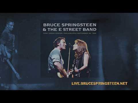 """Bruce Springsteen Archives: """"Streets of Philadelphia"""" Philadelphia, PA, September 25, 1999"""