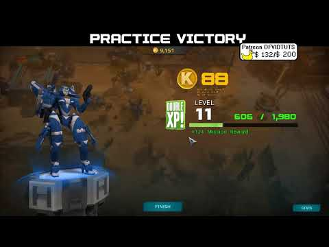 Airmech Strike - Action RTS game, actually out of early access. Refer me: CapnDuck