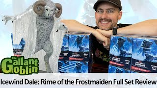 Icewind Dale: Rime of the Frostmaiden Minis Full Set Review - WizKids D&D Icons of the Realms