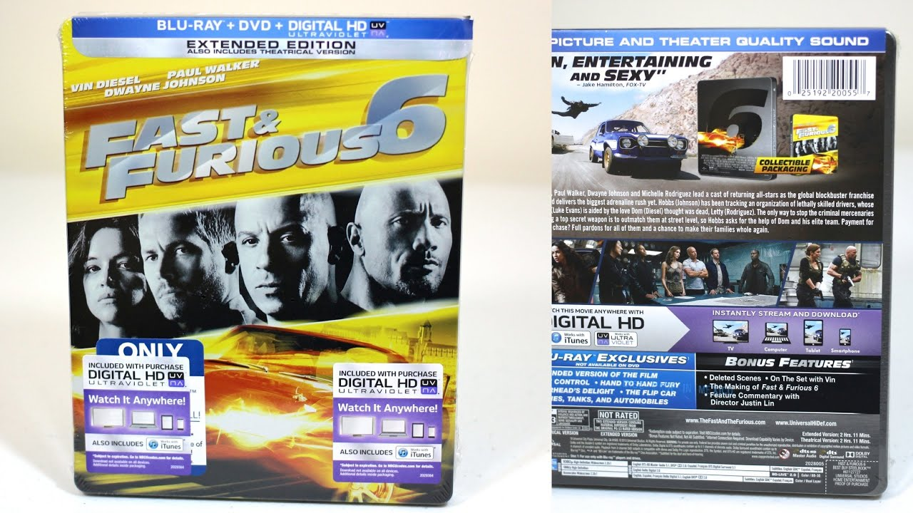 Fast And Furious 1 Bluray Broome County Arena Binghamton Ny