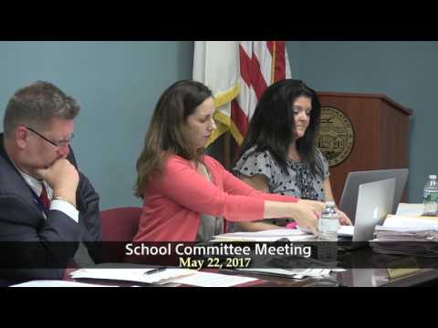 Winthrop School Committee Meeting of May 22, 2017
