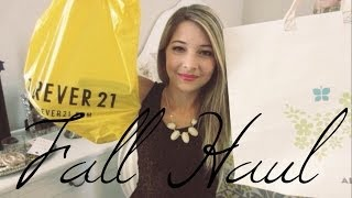 Fall Haul | Judith March, Free People & Forever21 Thumbnail