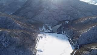 29/1/2019静内ダム上流~高見ダム方面