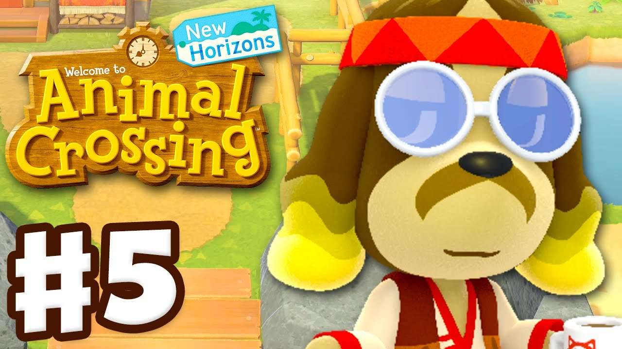 Harv's Island! Visiting Photopia! - Animal Crossing: New Horizons - Gameplay Walkthrough Part 5