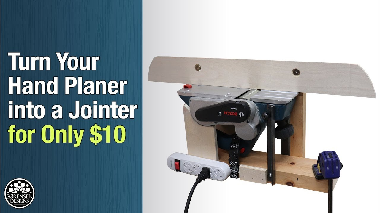 Planer And Jointer Stand
