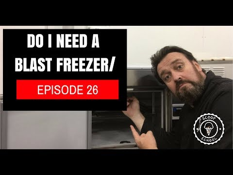 Should I use a A Blast Freezer for my ice cream?