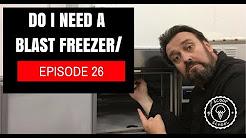 Should I use a A Blast Freezer for my ice cream?