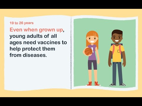 Don't forget young adults need vaccines too!