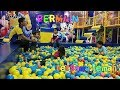 #bermain #kidsplay #playground  di happy kiddy mall cito surabaya | play with friends at happy kiddy