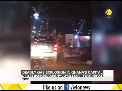 Deadly gas explosion in Ghana's capital Accra