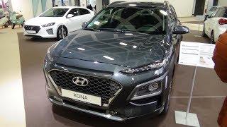 2020 Hyundai Kona 1.6 Gdi Hybrid Premium - Exterior And Interior - Autotage Berlin 2019