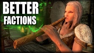 Skyrim - 4 Factions we wished were more fleshed out