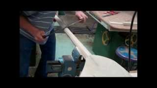 How To Make A Wooden Kayak Paddle