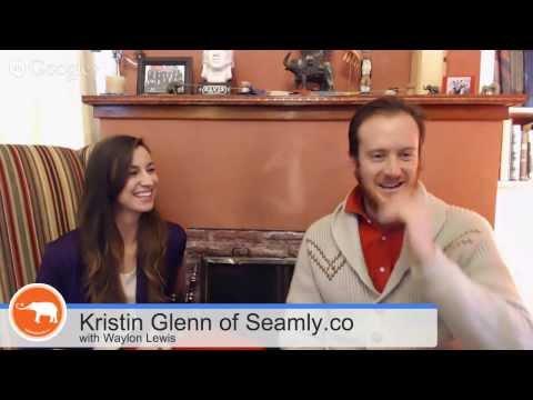 Waylon Talks with Kristin Glenn, Female Entrepreneur, about Mindful Ecofashion.