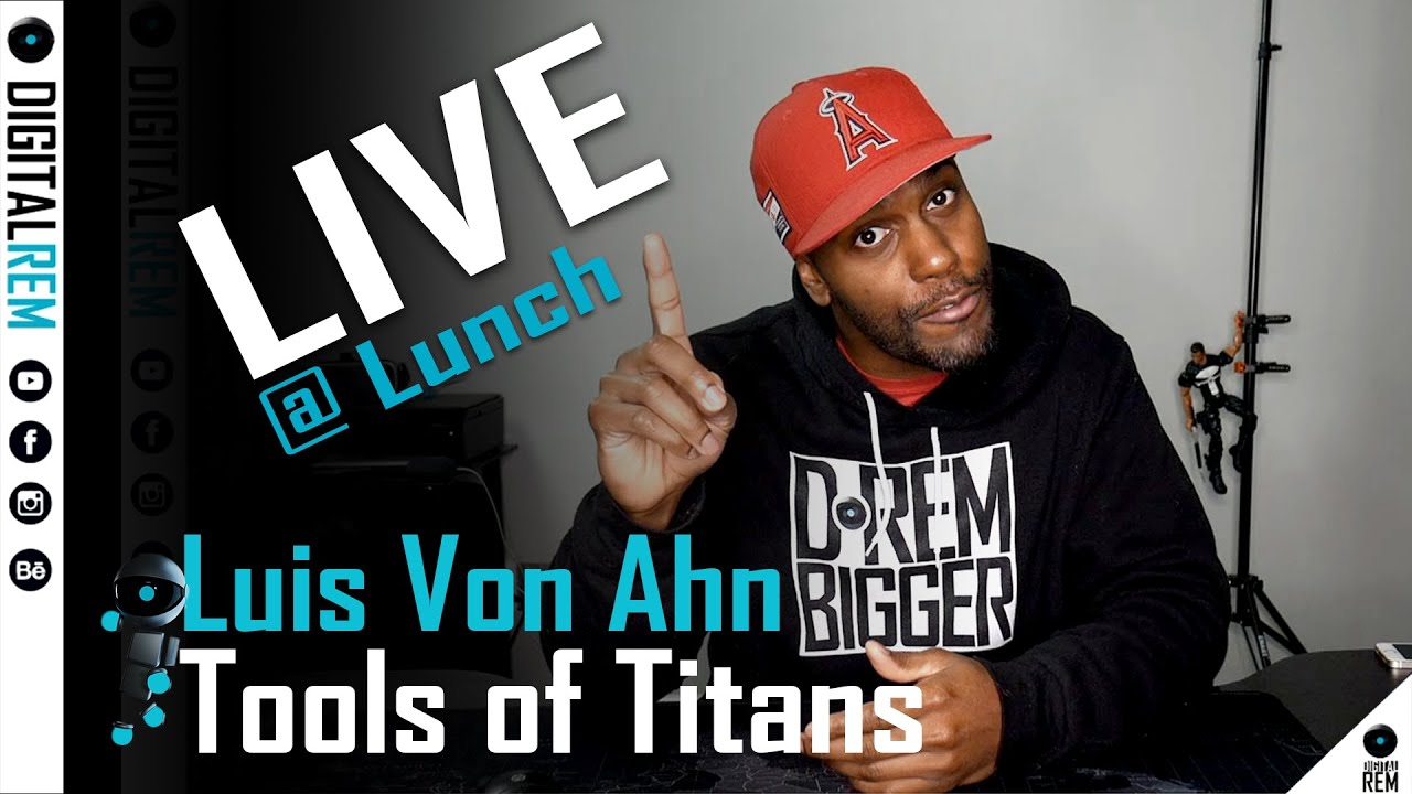 Live at Lunch |Tools Of Titans | Luis Von Ahn