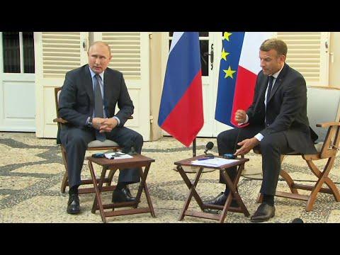 Переговоры президентов России