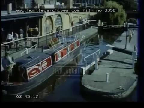Regent's Canal London, 1990s - Film 3352