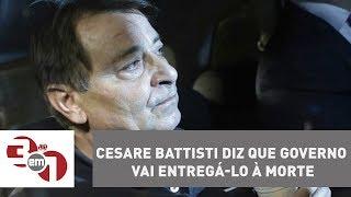 Com extradição nas mãos de Temer, Cesare Battisti diz que governo vai entregá-lo à morte
