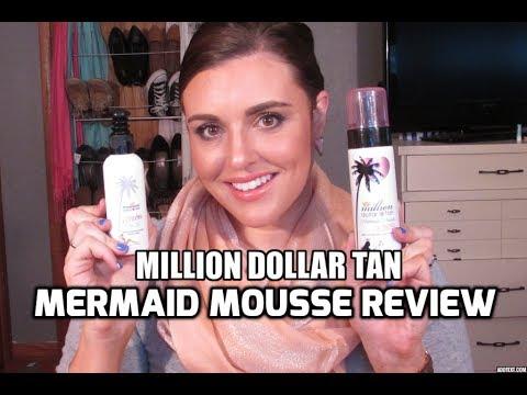million dollar tan mermaid mousse