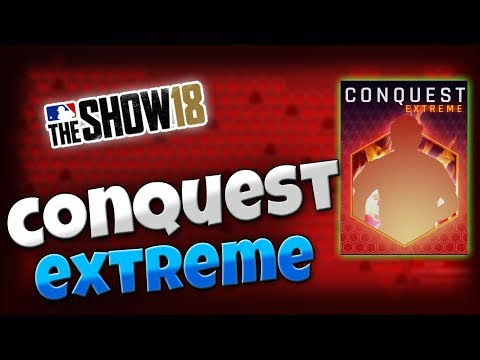 MLB The Show 18 | How to beat Conquest Extreme