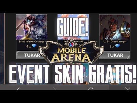 Mobile Arena - EVENT SHARE GUIDE! CARA DAPAT SKIN GRATIS!