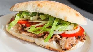 How To Make Chicken Doner Kebab - Recipe Video