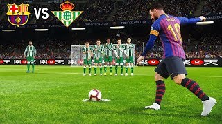 Barcelona vs Real Betis | La Liga 11 November 2018 Gameplay