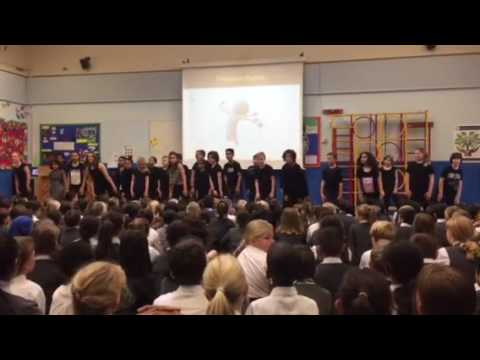 Year 6 North Ealing Primary School. Ms Matlkins Assembly Dance