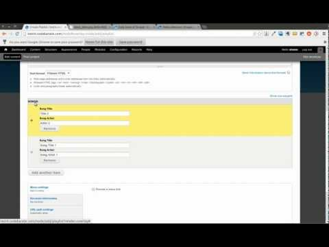 Drupal 7 Field Collection Module - Daily Dose of Drupal Episode 59