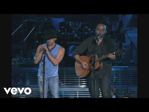 Kenny Chesney - Dave Matthews - Guest on Live in No Shoes Nation