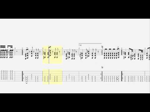 Tenacious D - Kickapoo / Guitar Tab HD