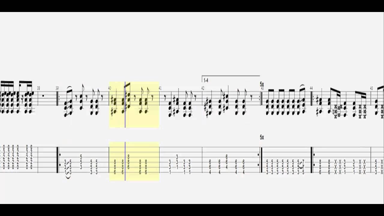 Tenacious D Kickapoo Guitar Tab Hd Youtube