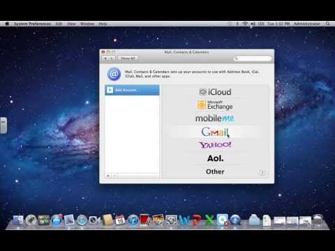 How To Add A Gmail Account To A Mac And Mac Mail.