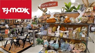 TJ MAXX EASTER AND SPRING 2019 HOME DECOR - SHOP WITH ME SHOPPING STORE WALK THROUGH 4K